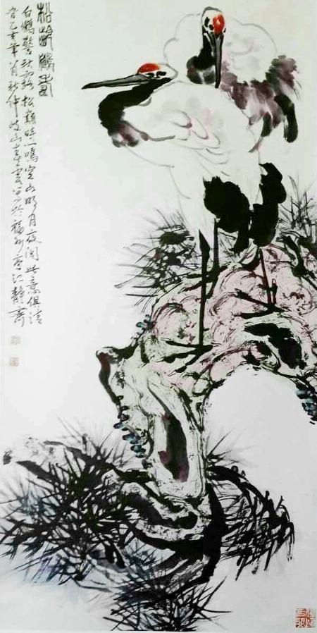 Brush painting by Chunyun Huang