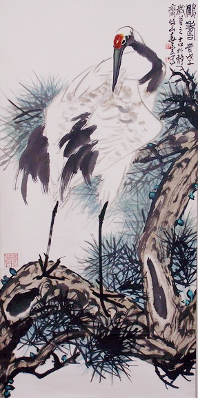 Brush painting by Chunyun Huang