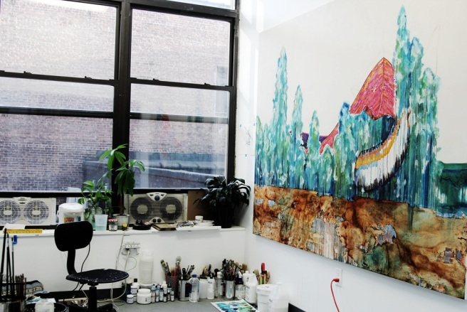 Eileen Lin Art Studio was founded in New York