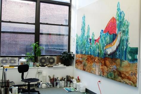 Eleen Lin art studio