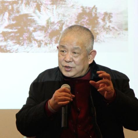 中國著名畫家張志民教授紐約舉行畫展和講座