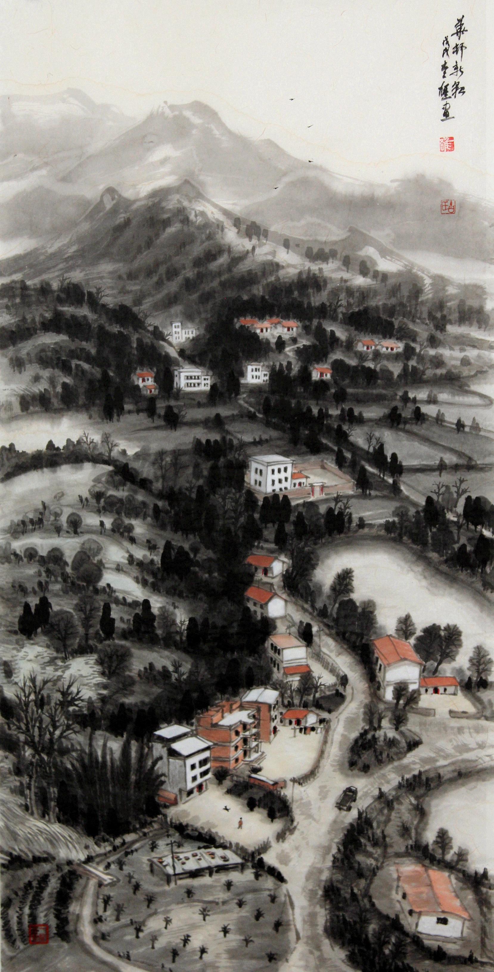 Yi-Xiong Gu Brush painting