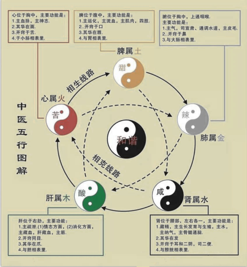 ZhouYi WuXing