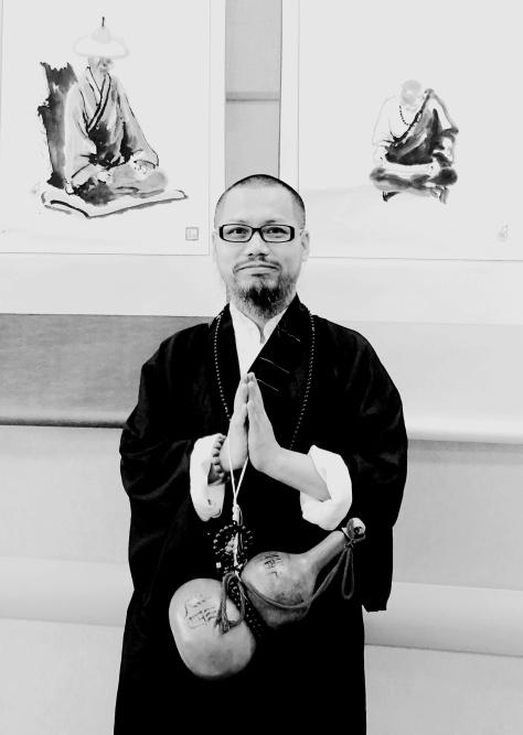 古一雄 Master Gu Yixiong wishes everyone.